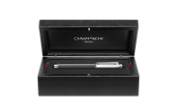 Silver-plated, rhodium-coated VARIUS CARBON fountain pen