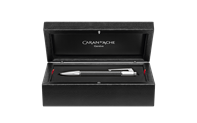 Silver-Plated, Rhodium-Coated VARIUS CARBON Mechanical Pencil