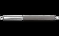 Silver-plated, rhodium-coated VARIUS IVANHOE roller pen