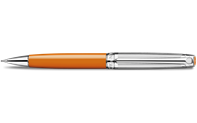 Silver-Plated, Rhodium-Coated LÉMAN BICOLOR Saffron Mechanical Pencil