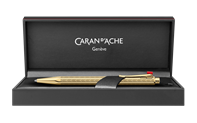 Gold-Plated ECRIDOR CHEVRON Mechanical Pencil