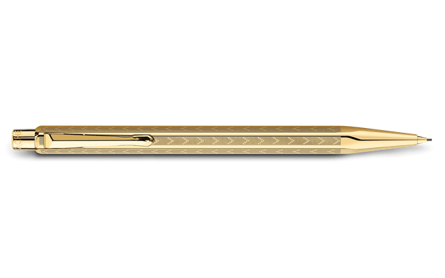 Gilded ECRIDOR CHEVRON Mechanical Pencil