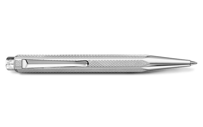 Palladium-coated ECRIDOR XS RETRO ballpoint pen