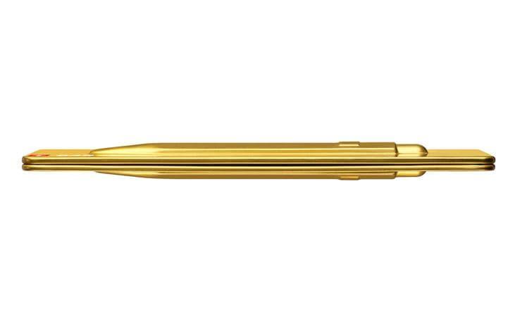 """Kugelschreiber 849 /""""GOLDBAR/"""" mit Etui Caran d/'ACHE"""