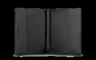 Porta passaporto Nero