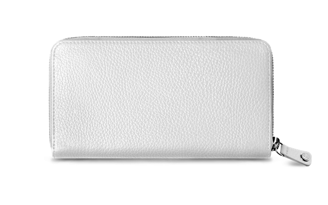 LÉMAN WHITE woman's wallet