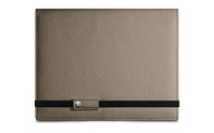 LÉMAN CASHMERE leather notebook A5