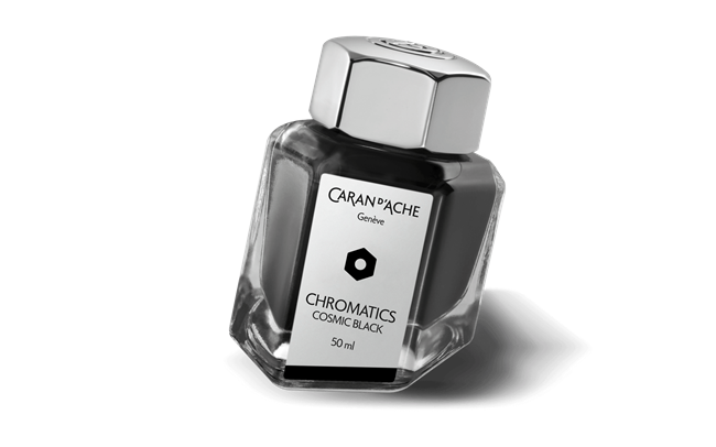 Cosmic Black CHROMATICS Ink Bottle 50 ml