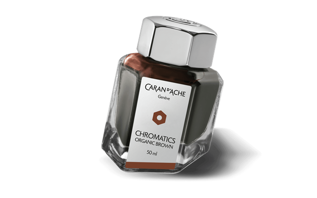 Organic Brown CHROMATICS Ink Bottle 50 ml