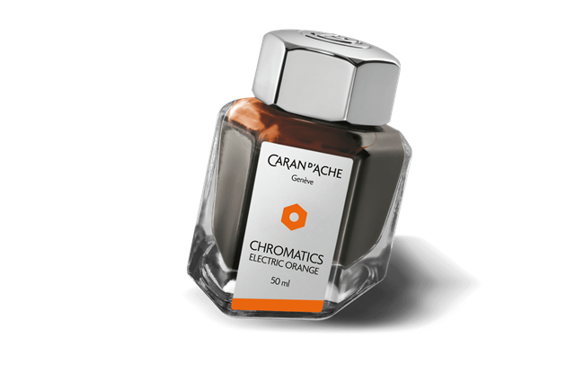 Tintenfass Electric Orange 50Ml