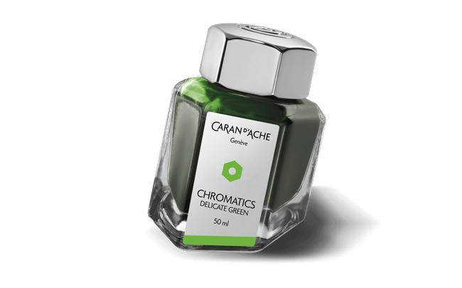 Delicate Green CHROMATICS Ink Bottle 50 ml