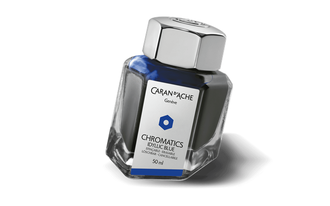 Ink Bottle Idyllic Blue 50Ml