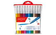 Box of 10 Maxi Fibre-tipped Pens FANCOLOR