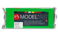MODEL'ART - Bright green, 1 kg block