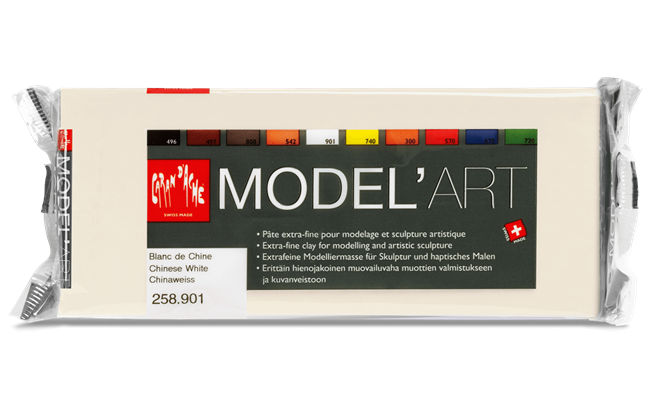 MODEL'ART – Chinese White, 1 kg block