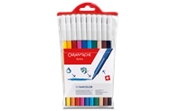 Box of 10 Fibre-tipped Pens FANCOLOR