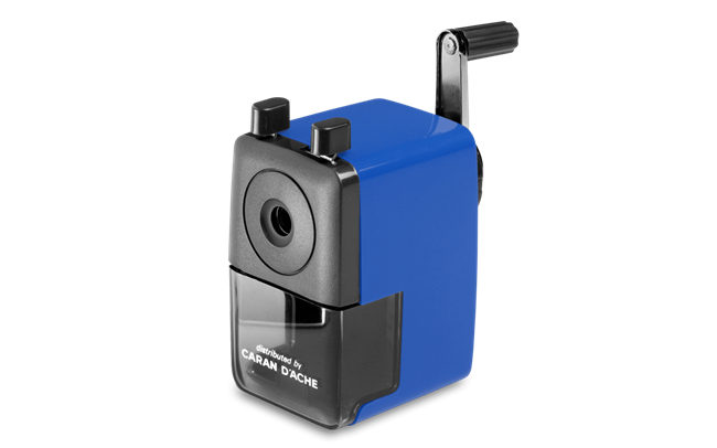 Plastic PENCIL SHARPENER Blue Edition