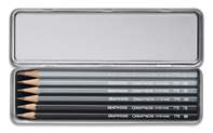 Box of 6 Hardness Degrees GRAPHITE LINE