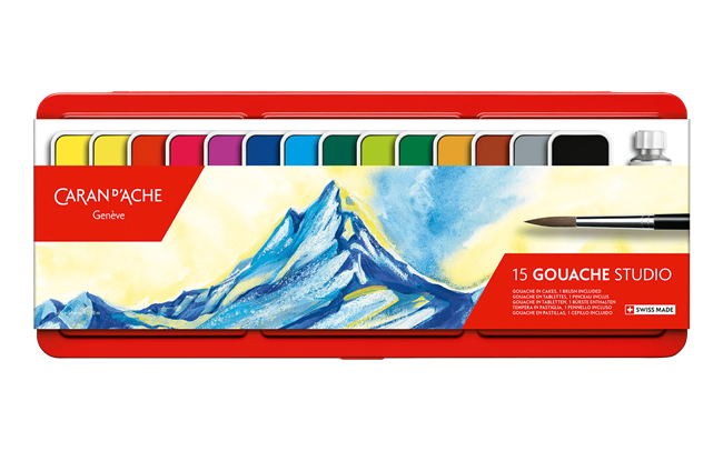 Box of 15 Colour Tablets GOUACHE STUDIO