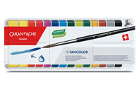 Box of 15 Colour Tablets GOUACHE FANCOLOR