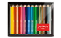 Wooden case - 30 SWISSCOLOR assortment