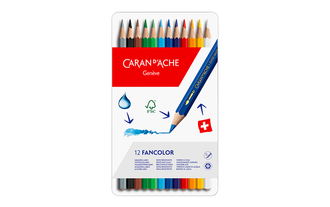 Box of 12 Colours FANCOLOR