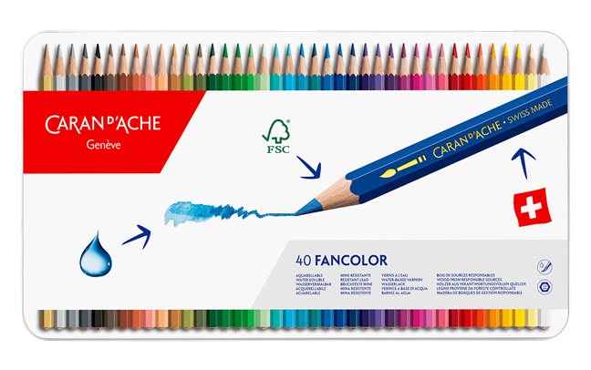 Box of 40 Colours FANCOLOR