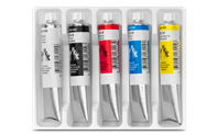 GOUACHE STUDIO - Assortment of 5 colours in 21 ml tubes