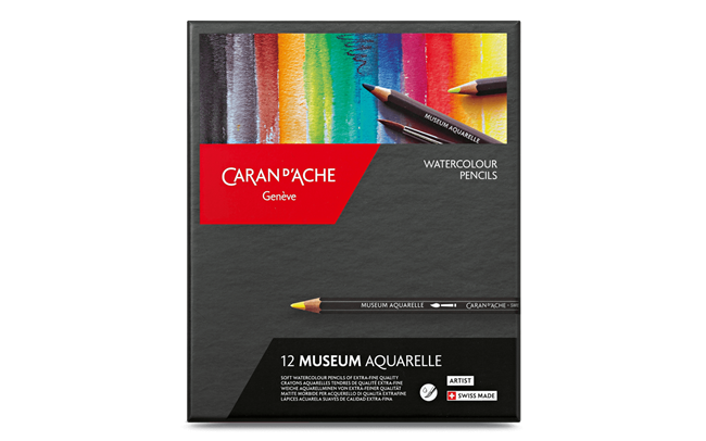 Standard Box of 12 Colours MUSEUM Aquarelle