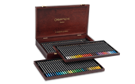 Wooden Box of 80 Colours MUSEUM Aquarelle