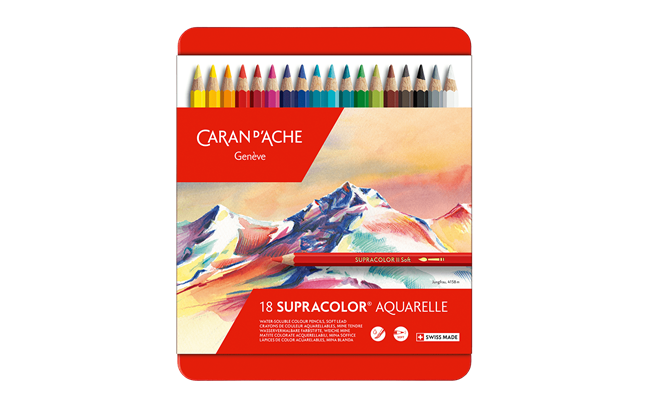 Box of 18 Colours SUPRACOLOR® Soft Aquarelle