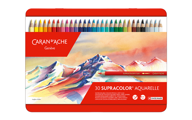 Box of 30 Colours SUPRACOLOR® Soft Aquarelle
