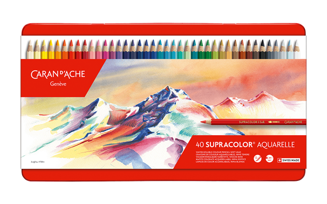 Box of 40 Colours SUPRACOLOR® Soft Aquarelle