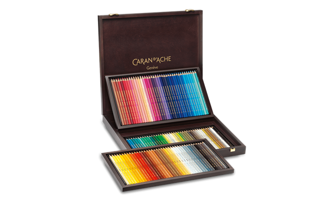 Wooden Box of 120 Colours SUPRACOLOR® Soft Aquarelle