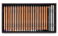 Wooden Box of 80 Colours LUMINANCE 6901®