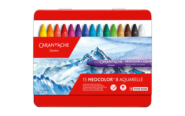 Box of 15 NEOCOLOR® II Pastels