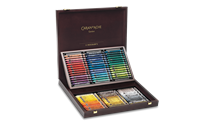 Wooden Box of 84 NEOCOLOR® II Pastels