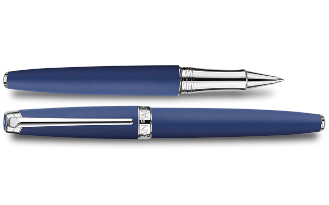 LÉMAN Blue Night Matt Roller Pen