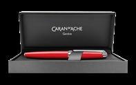 LÉMAN Scarlet Red Roller Pen