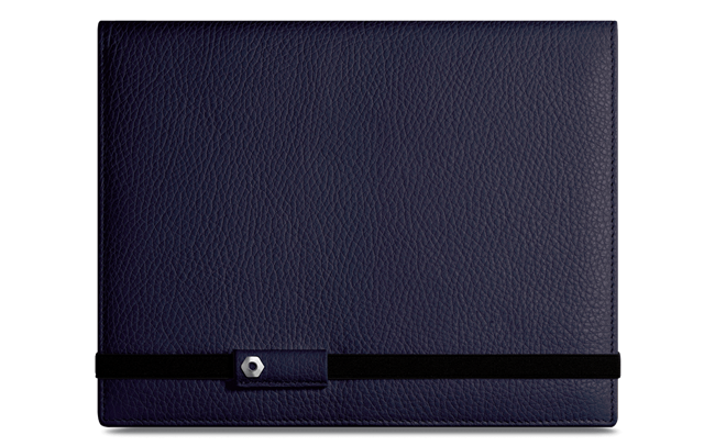 LÉMAN BLUE NIGHT leather notebook A5