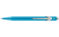 849 POPLINE Metallic Turquoise Ballpoint Pen, with Holder