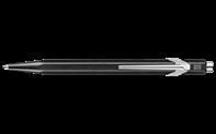 Penna a Sfera 849 POPLINE Nero Metallico con Astuccio