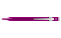 849 POPLINE Metallic Purple Ballpoint Pen, with Holder