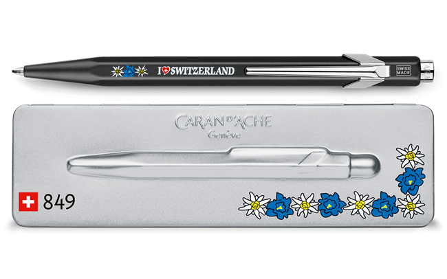 849 EDELWEISS Ballpoint Pen, with Holder