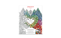 Colouring book for adults SPIRIT OF THE ALPS