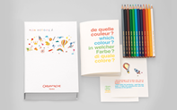 Coffret-Livre 12 Couleurs FANCOLOR Collection 2016