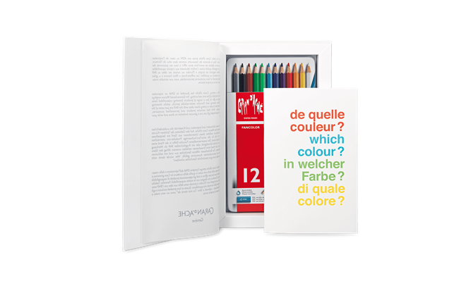 Buchbox 12 Farben FANCOLOR Kollektion 2016