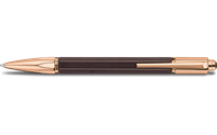 Rose-Gold Plated VARIUS EBONY Ballpoint Pen