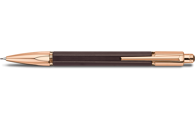 Rose-Gold Plated VARIUS EBONY Mechanical Pencil