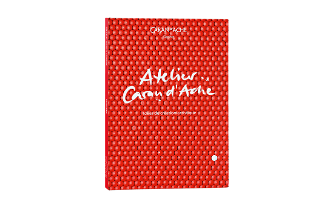 The CARAN D'ACHE WORKSHOP BOOK french version
